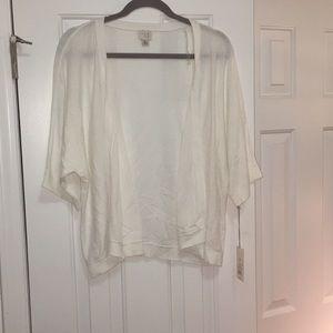 A new day white cardigan xxl NWT